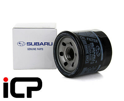 Genuine JDM Black Oil Filter Fits: Impreza WRX STi Legacy Forester 15208AA100