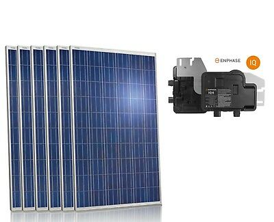 3 kW Grid Tied Solar panel Enphase micro inverter house home panneau solaire for sale  Mississauga