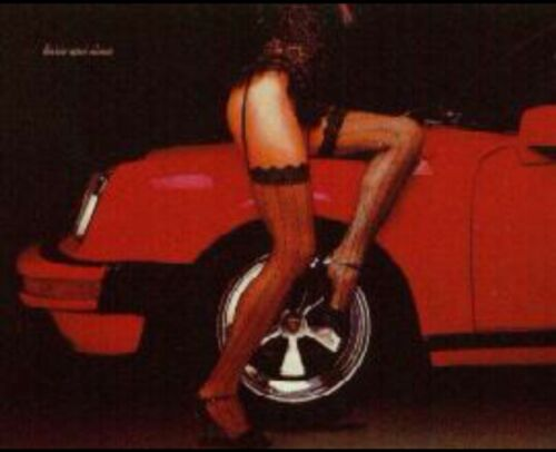"""Porsche """"Turbo and Lace"""" From Its Original Printings Car Poster!"""