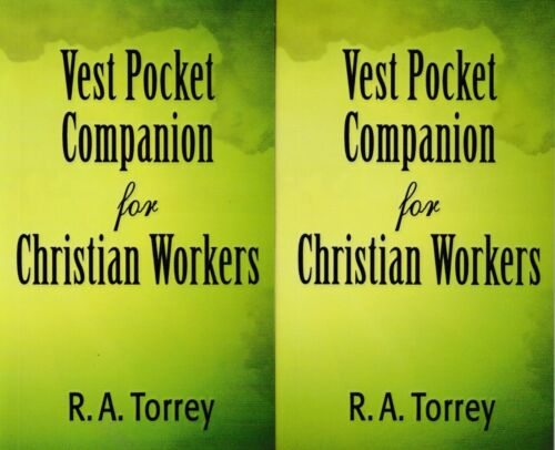 Vest Pocket Companion By R. A. Torrey, 2 Copies