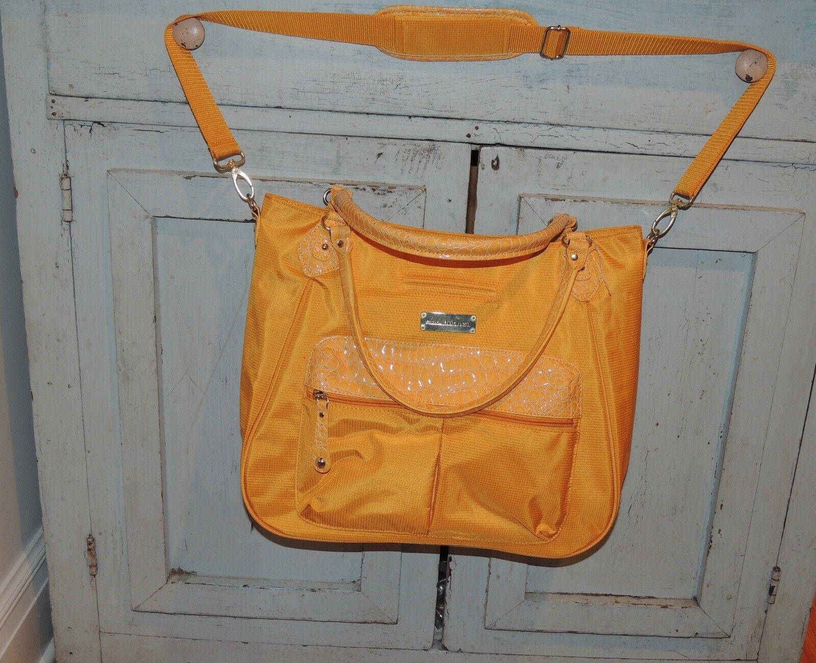 Samantha Brown Bag Handbag Purse Luggage Carry On Over Night