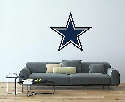 Dallas Cowboys NFL Team Logo Vinyl Decal Sticker Wall Decal EXTRA LARGE SA95 ()
