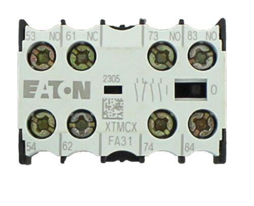 EATON Cutler-Hammer Miniature Contactor -AUXILIARY CONTACT  XTMCXFA31