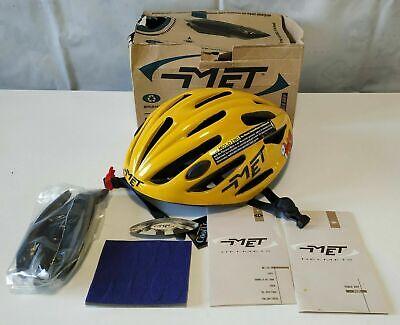 MET Fireball Polti vintage helmet / casco (1997) NOS size / talla...