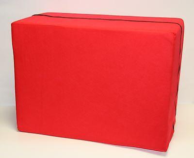 Bandscheibenwürfel Stufenlagerung 55 X 40 X 30 cm - rot