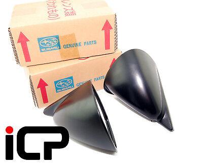 Genuine JDM S201 WRC Type Wing Mirrors Fits: Subaru Impreza WRX STi 22B 92-00