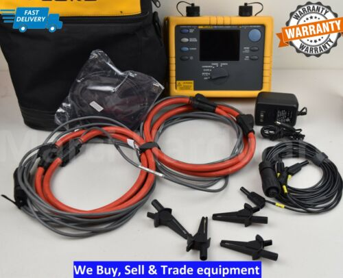 Fluke 1735 Three Phase Power Energy Logger Analyst 10.24 kHz