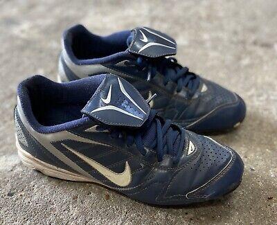 Blue Nike Baseball Cleats Size 6Y