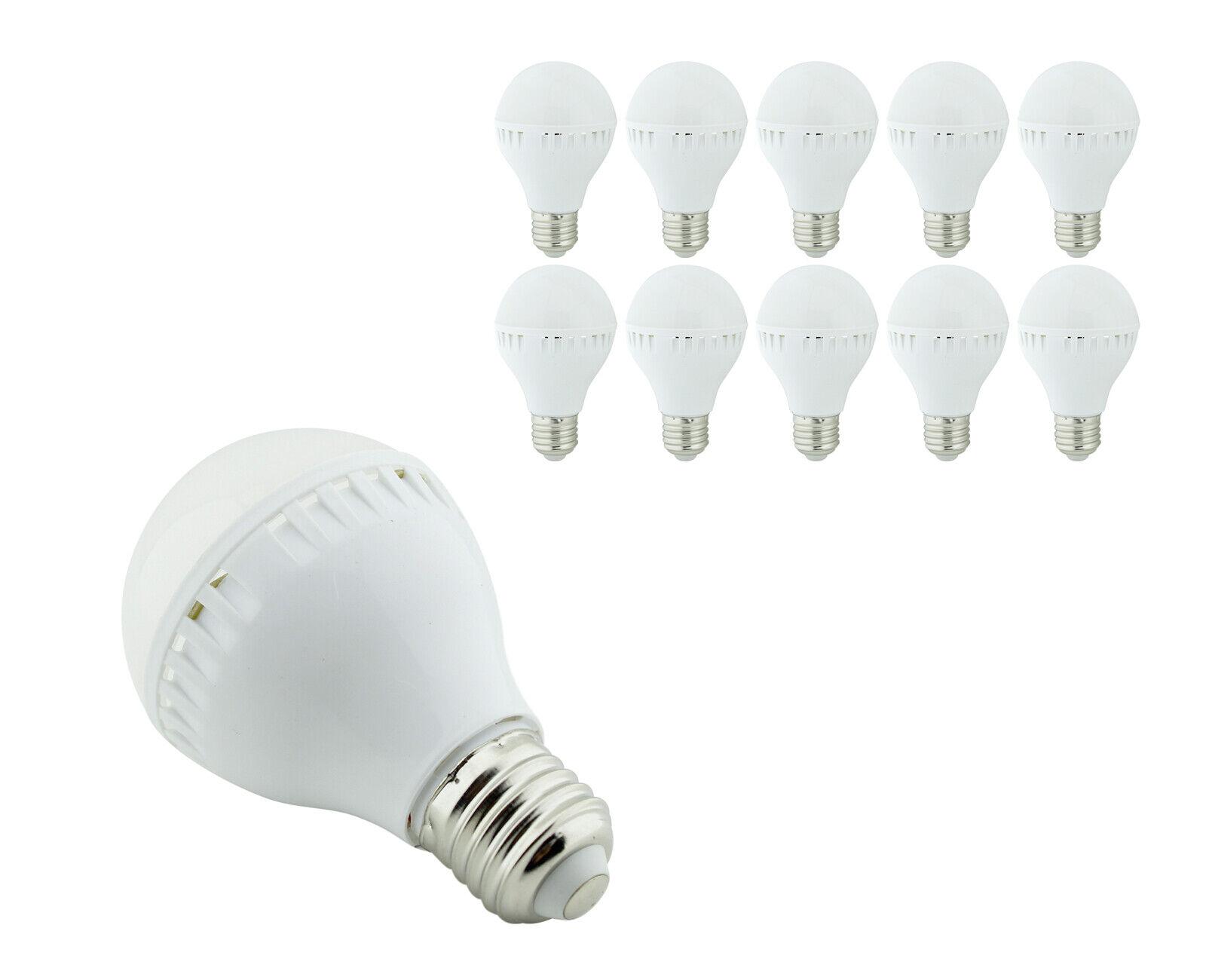 10stk E27 LED 9W Leuchte Leuchtmittel Energiesparlampe Lampe Birne Glühbirne