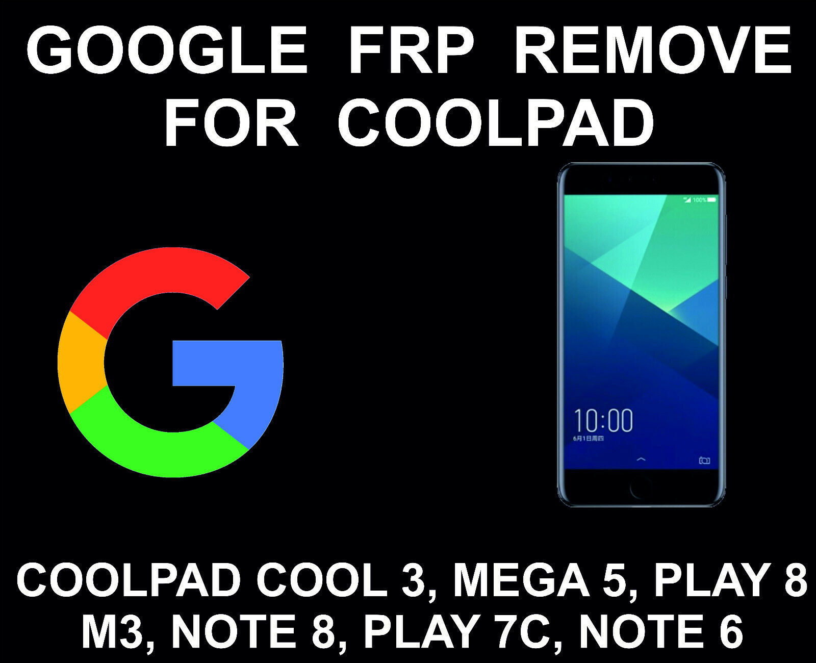Google FRP Account Unlock Service, Bypass, Coolpad Cool 3, Mega 5, Play 8,  M3 · $15 00 · Installations & Support
