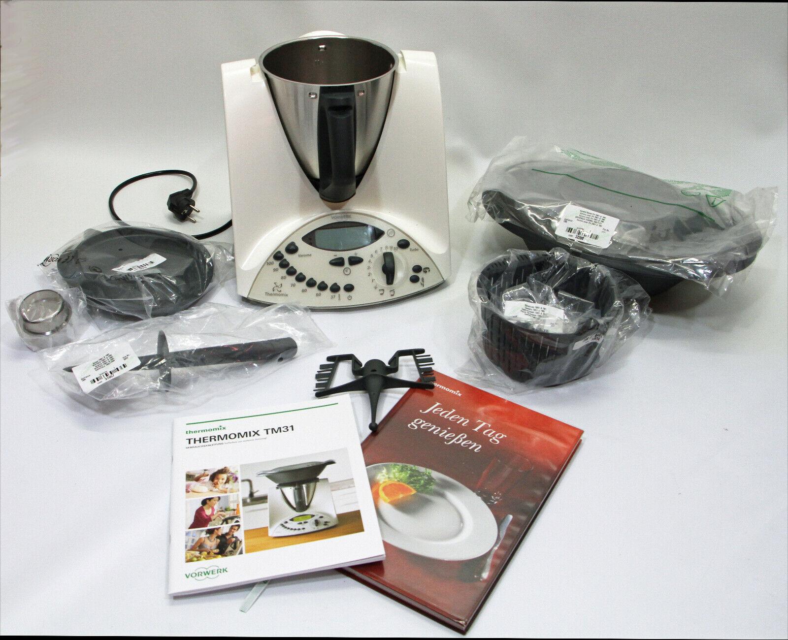 Thermomix TM31, Vorwerk, Küchenmaschine, gebraucht mit neuem Original Zubehör
