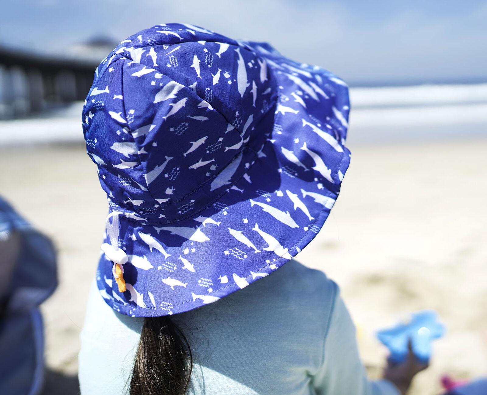 Baby Sun Hat Bucket Cap Summer For Girls Boys UPF 50+ UV Ray