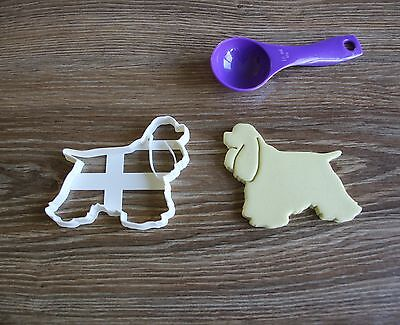 Cocker Spaniel Treat - American Cocker Spaniel Cookie Cutter Dog Pup Pet Treat puppy Pupcake cake