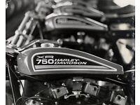Harley Racing Flanders Lenker Springer Flathead Knucklehead Panhead WR Flattrack