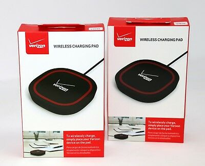 2x Verizon Qi Wireless Charging Pad / Wireless Charger (2 units) NEW!