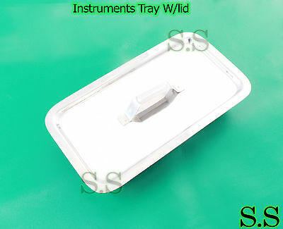 Instruments Tray Surgical Medical Equipment Dental 10 P