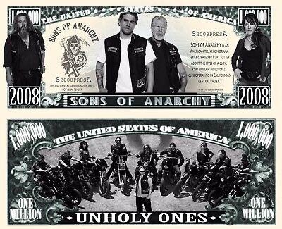 Our Sons Of Anarchy Dollar Bill  2 Bills