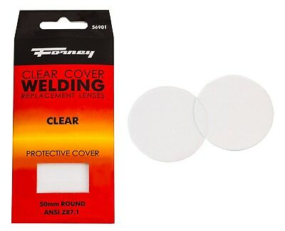 Forney 56901 Replacement Glass Lense Eye Safety Protective Welding Clear Cover