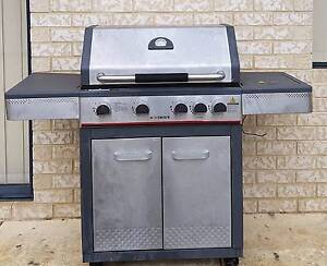 Brand new never used Red Centre Four Burner Stainless Steel BBQ Australind Harvey Area Preview