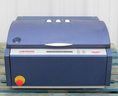 Cim Model Me2000 Metal Tag Embossing Machine Date 2010 Power Tested Only