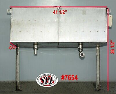 Bottle Can Dump Station Stainless Steel Used Wall Mount With 2 Legs