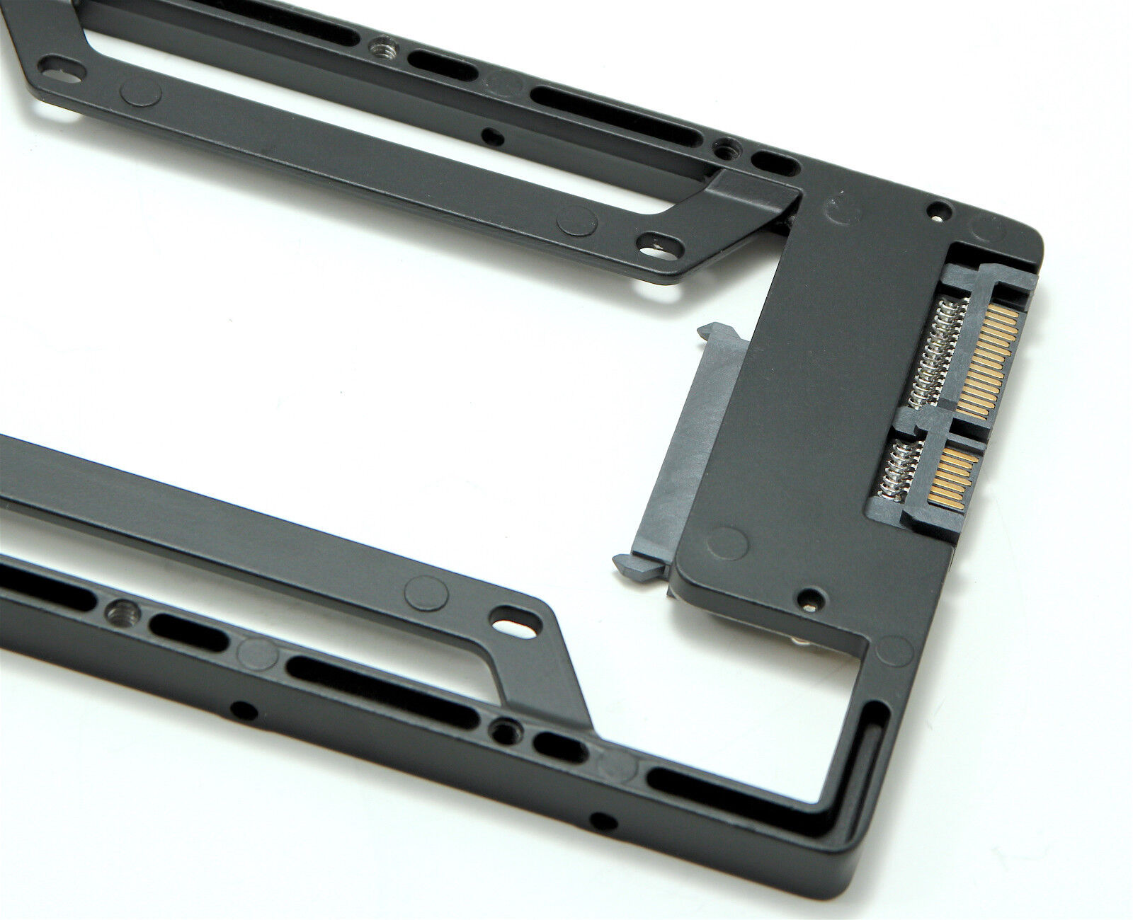 "All Metal 2.5/"" 3.5/"" HD Mount adapter for Apple MAC pro SSD Macpro upgrade"