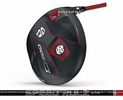 Wilson Staff D300 Driver On Rulz A Type  By Matrix Pick A Club