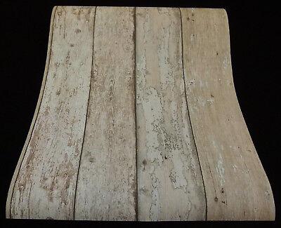 7372-11) moderne Papiertapete Holz-Optik Vintage Shabby  grau braun