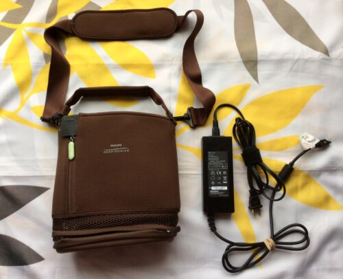 Philips Respironics SimplyGo Mini AC Power Supply Charger & Carry Crossbody Bag