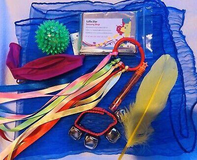 Sensory Play 8 Item Bundle. Baby Gift, Newborn, Baby Shower, SEN Toys...