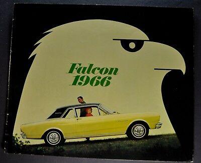1966 Ford Falcon Catalog Sales Brochure Futura Club Wagon Excellent Original 66