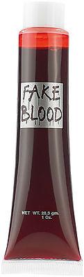 künstliches Blut Halloween Make-Up Set infactory Täuschend echtes Kunstblut 30ml