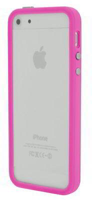 4-OK Bumper Schutz Hülle Case Cover in Pink für Apple iPhone 5/5s ()