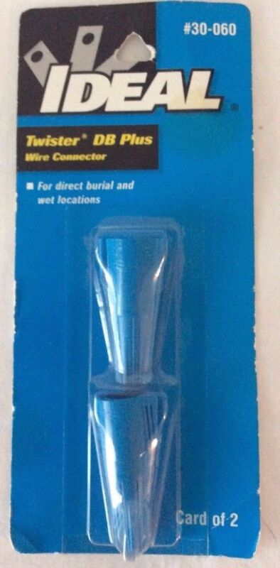 Ideal Twister DB Plus Wire Connector #30-060, Blue - NEW