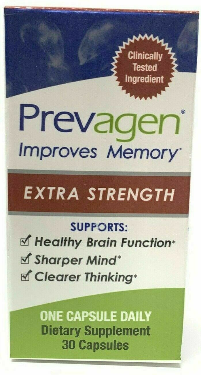 Prevagen Extra Strength Capsules Healthy Brain Function 20 m