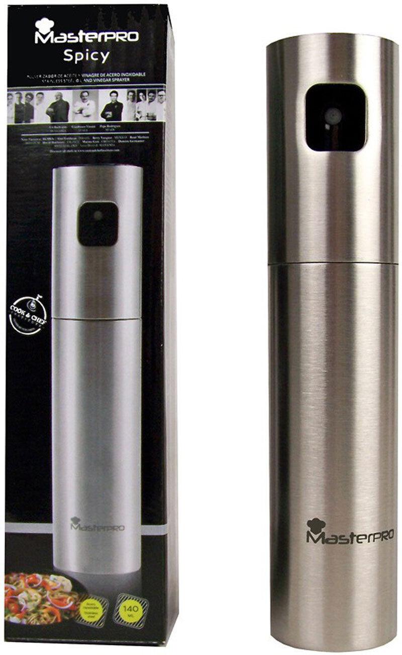 Dosatore spray per olio e aceto in acciaio inox 140 ml spruzzatore nebulizzatore
