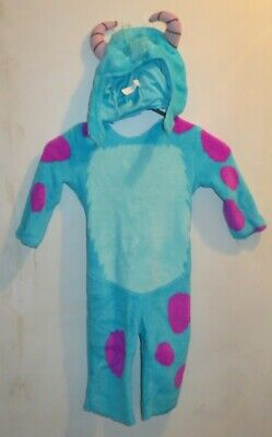 Toddler Sulley Monsters Inc Costume (Sulley Monsters Inc University Toddler Boys Disguise 2T Kids Halloween)