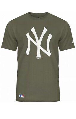 New Era - MLB New York Yankees Team Logo T-Shirt - Olive Green Extra Small