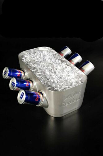 SUPER RARE RED BULL ENERGY DRINK ENERGYBLOCK V6 BUCKET COOLER ENGINE BLOCK