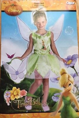 Child Disney Tinker Bell Costume Dress up S(4-6X)