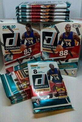 2019-20 PANINI DONRUSS NBA Basketball (1) NEW RETAIL PACK 8 CARDS MORANT? ZION?