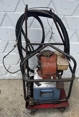 Huck 912 Powerig Gas-powered Hydraulic Power Unit With Huck Hydraulic Riveter