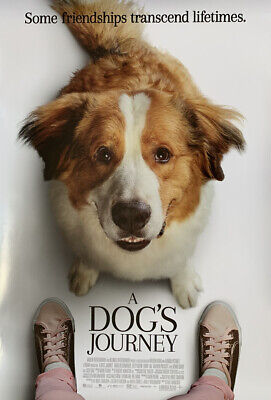 A DOG'S JOURNEY MOVIE POSTER 2 Sided ORIGINAL FINAL 27x40 DENNIS QUAID JOSH GAD