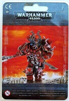 >> Chaos Space Marine Aspiring Champion Warhammer 40K NIB!