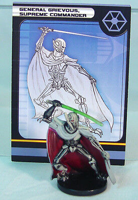 General GRIEVOUS SUPREME COMMANDER #32~ Star Wars Minis Game~ Cake Topper~