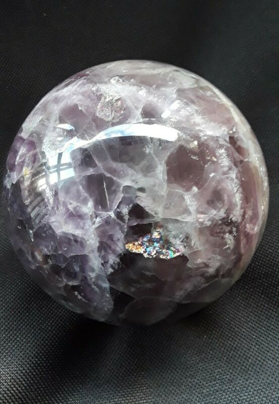 1245g 90mm Natural Fluorite Sphere Quartz Crystal Ball Specimen Healing *USA*