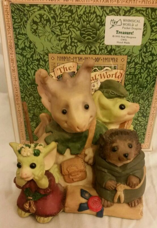 RC💖Pocket Dragons Dragon* Mint in Box * Collectors Special *🍃The Merry Band🍃*