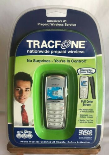 Nokia 2126 Tracfone From 2006 Vintage Retro NEW Factory Sealed