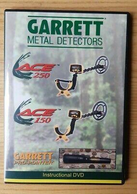 DVD GARRETT Istruzioni Metal detector Video ACE 150 250 pro-pointer