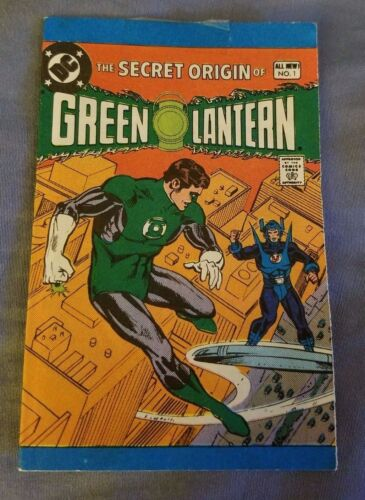 GREEN LANTERN MINI COMIC BOOK, SECRET ORIGIN OF, 1981